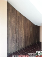 A003 - Гардероб под стълбище: vintage marine wood