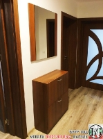 A004 - Шкаф за обувки и огледало: Бергама