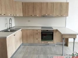K014 - Кухня: Elegance Endgrain Oak и Дюна_1