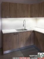 K014 - Кухня: Elegance Endgrain Oak и Дюна_8