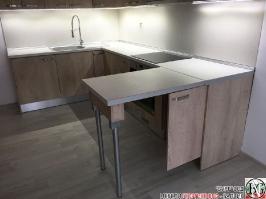 K014 - Кухня: Elegance Endgrain Oak и Дюна_11