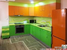 K018 - Кухня: Дъга, Зелена Мамба, Оранж и Лайм_15