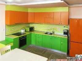 K018 - Кухня: Дъга, Зелена Мамба, Оранж и Лайм_1