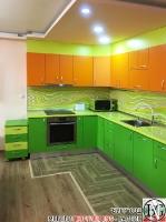 K018 - Кухня: Дъга, Зелена Мамба, Оранж и Лайм_4