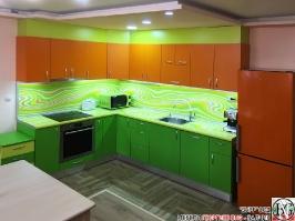 K018 - Кухня: Дъга, Зелена Мамба, Оранж и Лайм