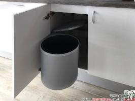 K001 - Кухня: Бял лак, Дъб джаксън_8