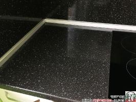K003 - Кухня: Снежно бяло фладер и Аполон черен гланц_10