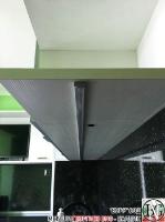 K003 - Кухня: Снежно бяло фладер и Аполон черен гланц_22