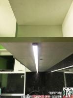 K003 - Кухня: Снежно бяло фладер и Аполон черен гланц_23
