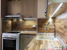 K004 - Кухня: Дъб Ферара и Porterhouse Walnut _2