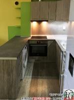 K005 - Кухня: Dark Astwood, Зелен пастел, F049 и PS54_3