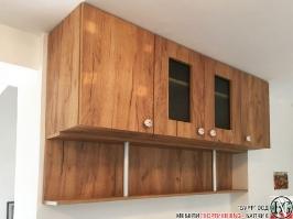 K009 - Кухня: Дъб Крафт голд и Мрамор Терацо светъл_4