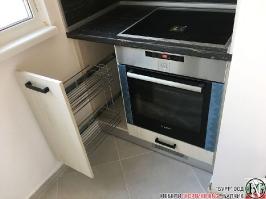 K011 - Кухня: White Coastland Oak, Мрамор лаурент и гранит Black Cosmos_14