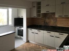 K011 - Кухня: White Coastland Oak, Мрамор лаурент и гранит Black Cosmos_17