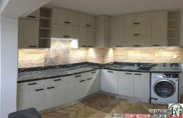 K011 - Кухня: White Coastland Oak, Мрамор лаурент и гранит Black Cosmos_21