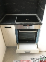 K011 - Кухня: White Coastland Oak, Мрамор лаурент и гранит Black Cosmos_9