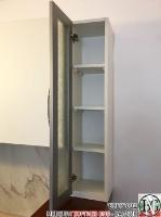 K012 - Горен ред шкафове за кухня: Цвят бяло