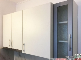 K012 - Горен ред шкафове за кухня: Цвят бяло_6