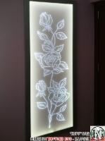 DR001 - Светещо пано за стена