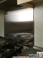 DR002 - Стенен панел за печка от неръждаема стомана/инокс_1