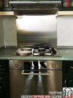 DR002 - Стенен панел за печка от неръждаема стомана/инокс_3