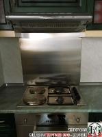 DR002 - Стенен панел за печка от неръждаема стомана/инокс_4