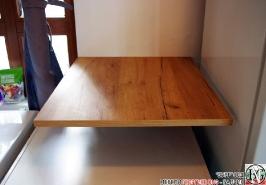DR011 - Шкаф с отделение за кош за дрехи и рафт за стена: Дъб Крафт голд_6
