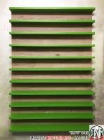 DR017 - стелаж за колички: Зелена Мамба и Satin Coastland