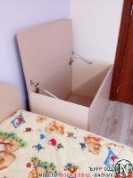 D004 - Ракла за детска стая: Макиато и Беже_2