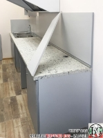 TO002 - Обзавеждане за закусвалня: Stone grey, Aluminium